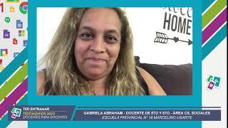 Gabriela Abraham, Escuela N° 16