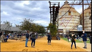 FIRST TIME AT THE MAGNOLIA MARKET SILOS IN WACO TX *AMAZING*     R HOUSE