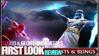 BLOOD & GLORY: IMMORTALS Android First Look Review