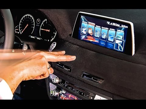 BMW 7 Series 2016 Hand Gesture Controls Are Cool Commercial HD CARJAM BMW 7er G11 G12 INTERIOR
