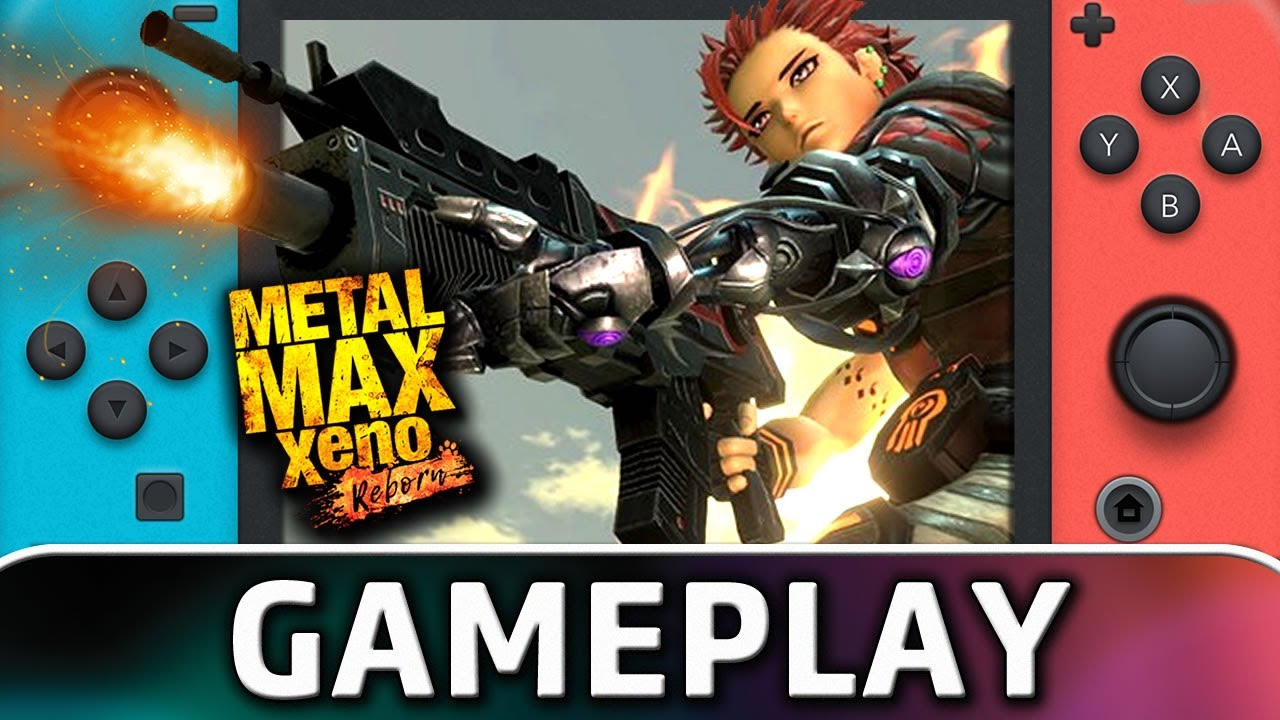 Metal Max Xeno: Reborn | Nintendo Switch Gameplay