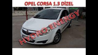 Opel Corsa 1.3 dizel hidrojen yakıt sistem montajı