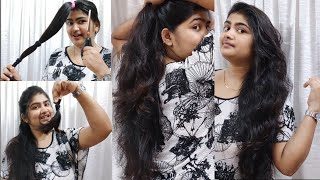 How To Cut Your Own Hair Easily At Home ||3 Step DIY Deep Leyer Cut #LOCKDOWN || Mitu Saha ||