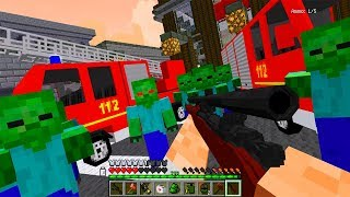Пожарная Часть! День 68. Зомби Апокалипсис в Майнкрафт