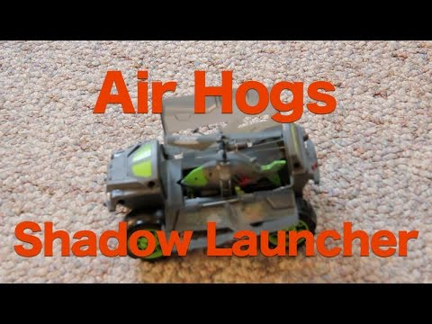 Air Hogs Shadow Launcher Review, 2 in 1 RC Helicopter and Car