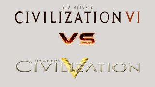 CIV 6 VERSUS CIV 5 ► WHAT IS CHANGING??