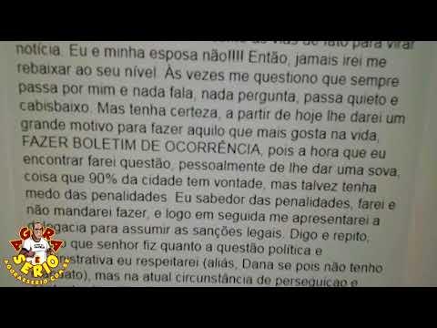 Pelo Facebook Marcelão Machado promete dar uma sova no Wagnew Fiscal do Povo