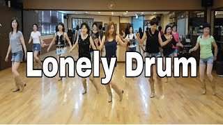Lonely Drum Line Dance  (Improver) Darren Mitchell