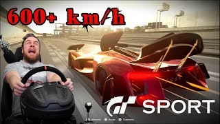 Gran Turismo Sport - САМЫЙ БЫСТРЫЙ АВТОМОБИЛЬ 600+ КМ/Ч