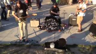 Venice philharmonic orchestra - sunset jam with Michael Jost on guitar, Andy Kravitz on drums and B