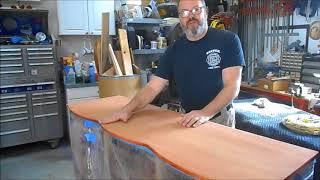 Refinishing The Top Of A Mahogany Dresser
