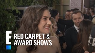 Winona Ryder Gushes Over Christian Slater At 2017 Globes  E Live From The Red Carpet