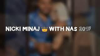 Nicki Minaj with Nas 2017 Instagram Photos