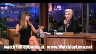 Оливия Уайлд, Olivia Wilde in The Tonight Show with Jay Leno July 26, 2011