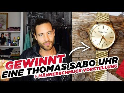 GEWINNT eine Thomas Sabo Uhr - Plus Männerschmuck Vorstellung