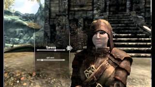 Как изменить пол,расу и имя в Skyrim