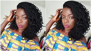AFRO KINKY TWISTS, HOW I PREP MY HAIR FOR A PS, LETS GO TO THE LOCAL SALON| Nywele Chronicles