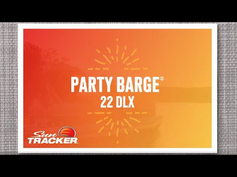 Sun Tracker Party Barge 22 DLXvideo