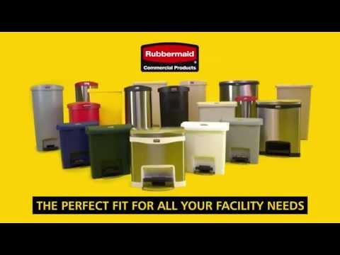 Product video for The Rubbermaid Commercial Impressions™ Step-On Container features a slim profile and small footprint to fit in tightest spaces. Impressions™ Step-On containers are constructed with premium-quality materials and meet the needs of any environment with efficiency, safety, and durability.