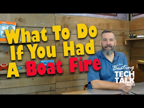 What to Do After a Boat Fire?