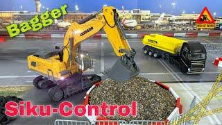 LIEBHERR 980 SME Bagger von SIKU-Control | 2,4 GHz | baggern wie die Großen für Jung und Alt