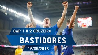 16/05/2018 - Bastidores Atlético-PR 1 x 2 Cruzeiro