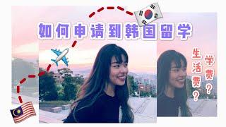 한국 유학 신청 방법 | 한국 대학교 및 어학원 | 생활비, 학비 등 | 지원 경험 공유