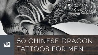 50 Chinese Dragon Tattoos For Men