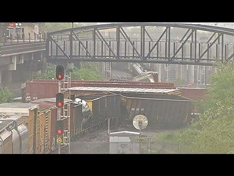 ΗΠΑ: Διαρροή χημικών μετά από εκτροχιασμό τρένου