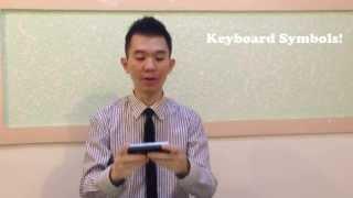Names of keyboard symbols, explained!