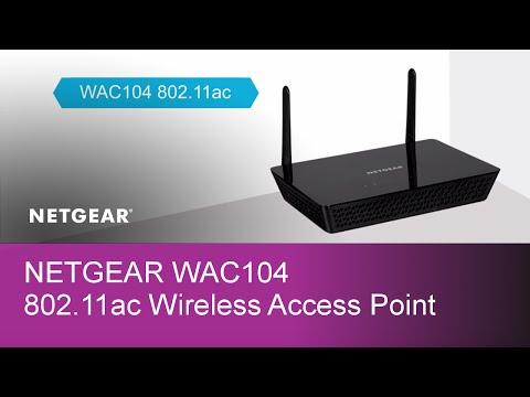 NETGEAR WAC104 802.11ac Wireless Access Point Product Tour