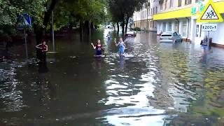 Потоп в Бресте. Затопило школу №9