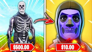 Top 10 Rarest Fortnite Skins RUINED BY BEING BROUGHT BACK!