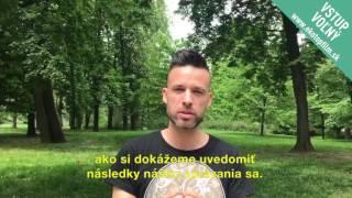 <h5>Roman Juraško pozýva na festival</h5>