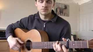 How To Play Yellow Brick Road - Angus & Julia Stone ( Guitar Lesson Tutorial )