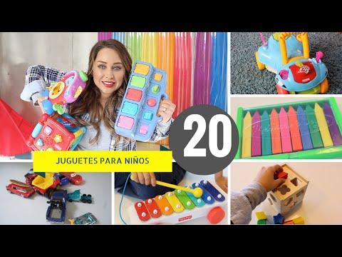 20 JUGUETES EDUCATIVOS PARA NIÑOS !!!