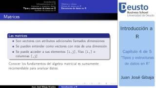 Curso R - Tipos y estructuras de datos