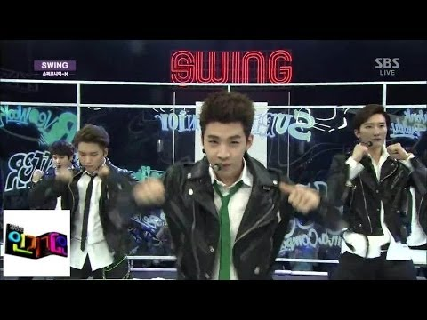 140406 SBS Inkigayo with Super Junior-M 'SWING' [Video] + DL Links!  