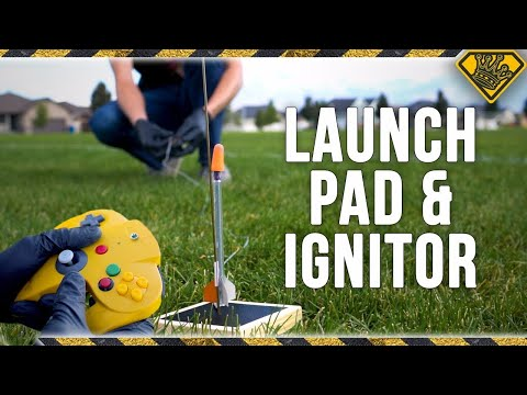 DIY Rocket Launch Pad and Ignitors
