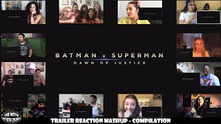 Batman v Superman: Dawn of Justice - 3 Trailers (Reactors' Compilation)