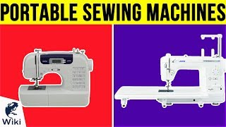 10 Best Portable Sewing Machines 2019