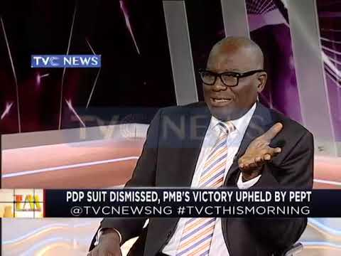 PDP Suit dismissed as PMB's victory upheld