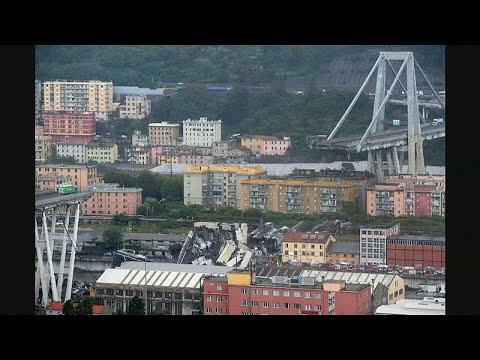 Σοβαρές επιπτώσεις από την κατάρρευση της γέφυρας στη Γένοβα …