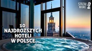 10 Najdroższych hoteli w Polsce