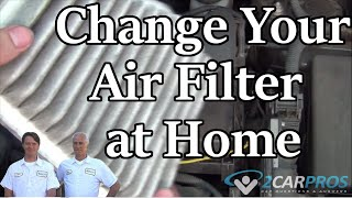 Air Filter Replacement Rav4 2006-2012