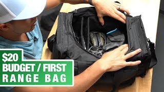 $20 & $30!! - Awesome BUDGET / FIRST TIME Range Bags