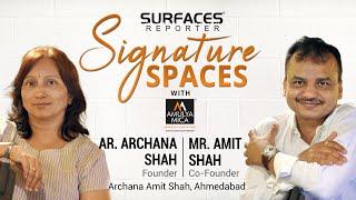 Ar. Archana Shah, Mr. Amit Shah, Ahmedabad | SR SIGNATURE SPACES with Amulya Mica