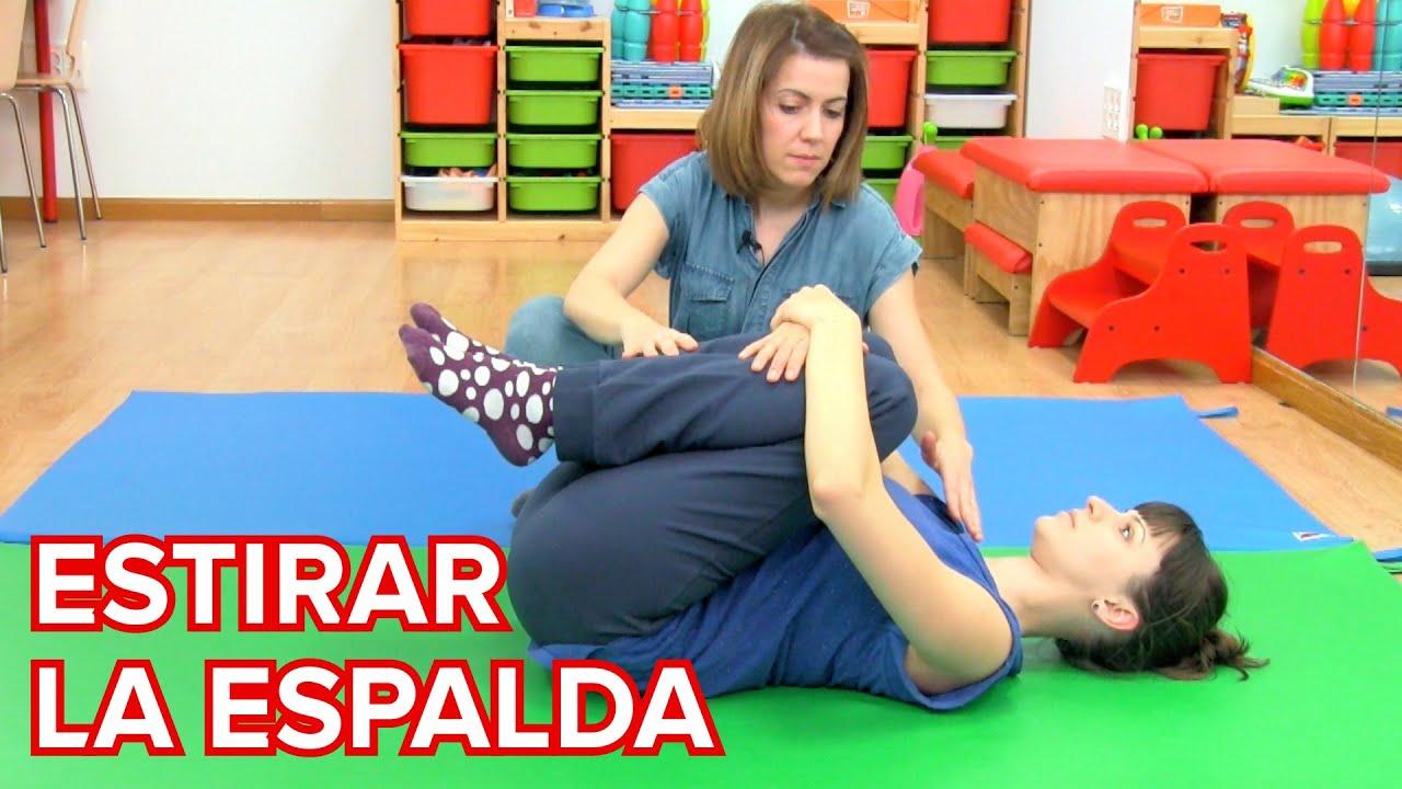 Ejercicios para estirar la espalda en el posparto