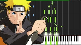 Blue Bird   Naruto Shippuuden (Opening 3) [Piano Tutorial] (Synthesia)  Animenz