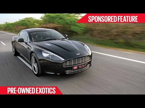 Certified Pre Owned Exotics Aston Martin Rapide Sponsored Feature